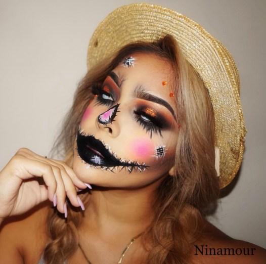 Halloween look by @ninamour