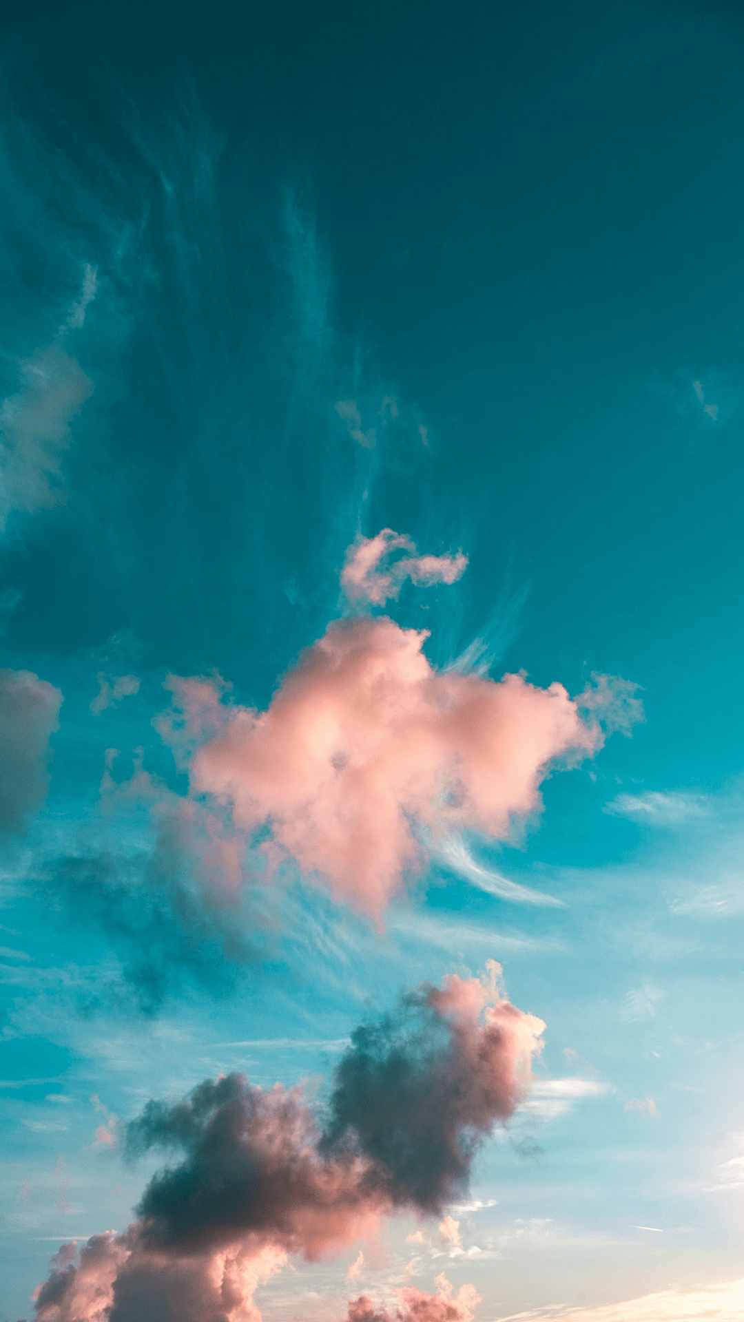 colorful sky wallpapers for iPhone - free HD download