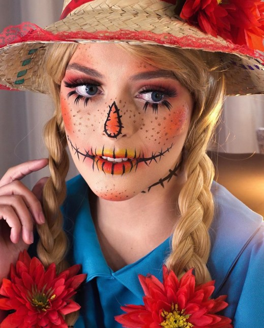 Halloween look by @wanessabrazilmakeup