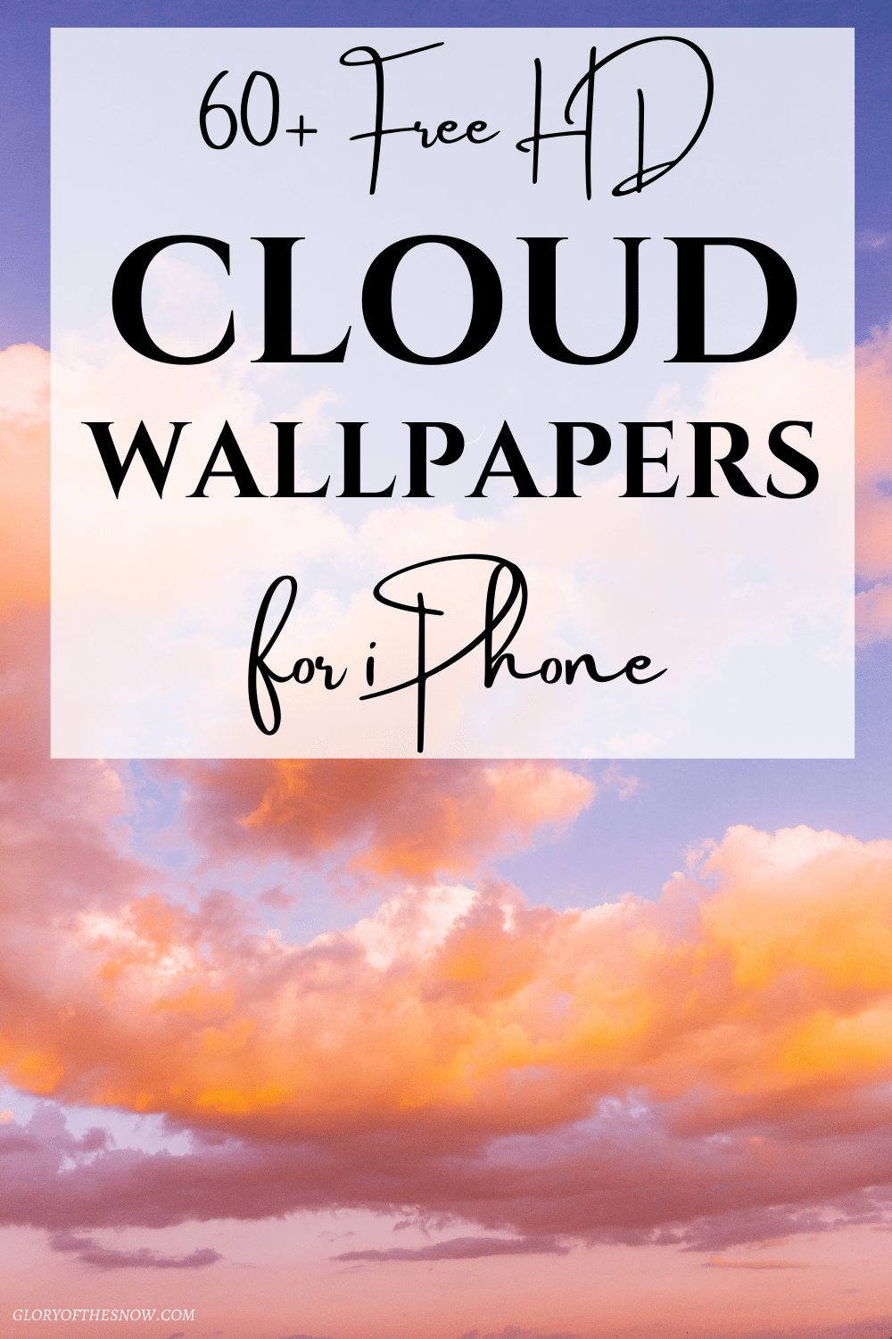 cloud aesthetic wallpapers