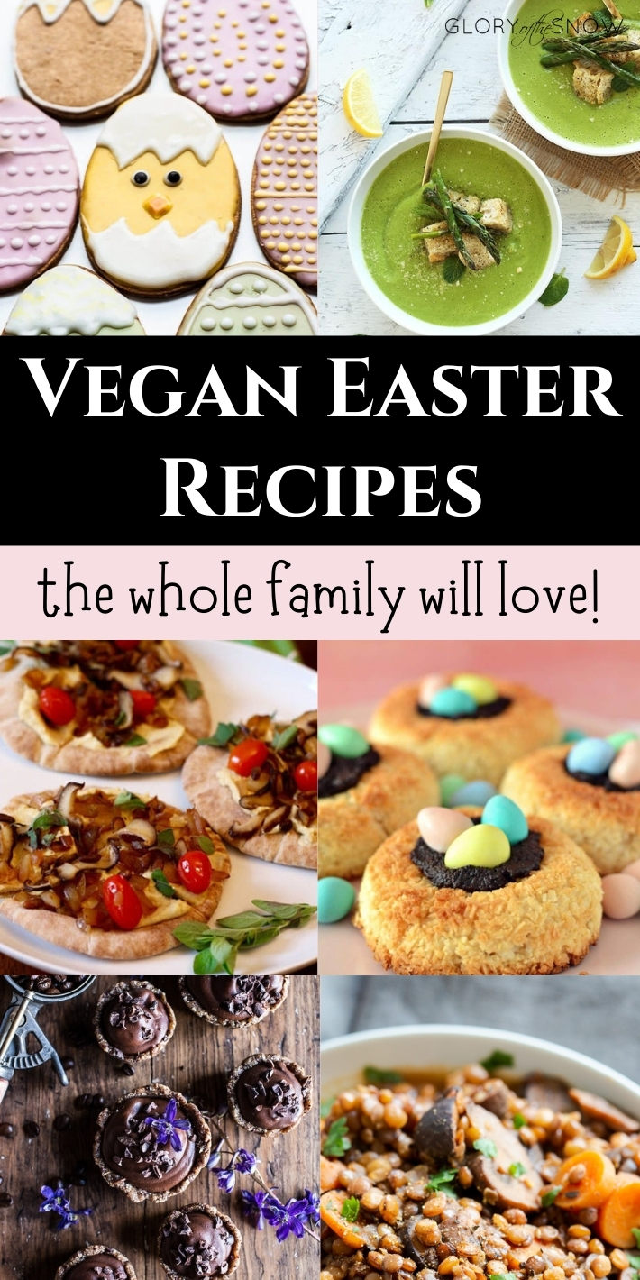 THE MOST DELICIOUS VEGAN EASTER RECIPES EVERYONE WILL LOVE