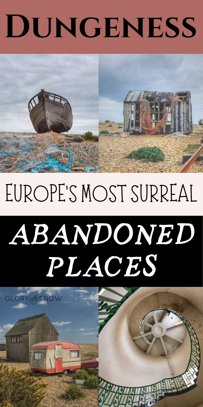 Dungeness: unusual things to do in the UK, day trips from London, abandoned, surreal places