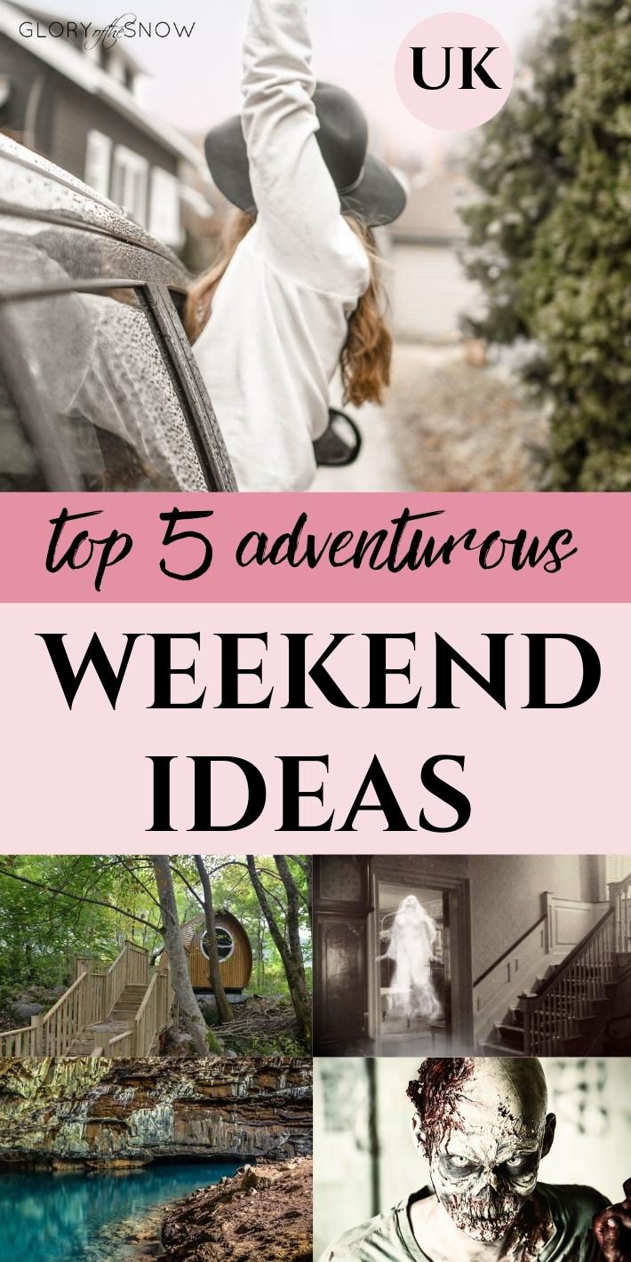 Adventurous ideas: UK weekend breaks, stag do, hen do, girls trip, boys trip & couples getaway!