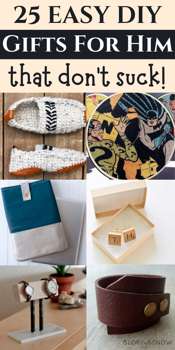 DIY gifts for boyfriend: unique, easy, practical, and affordable!