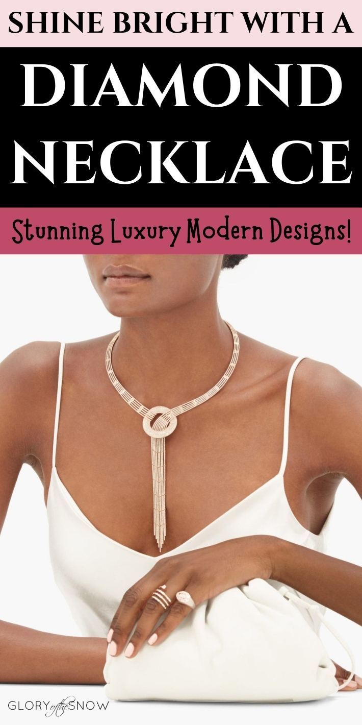 Luxury Jewelry: The Most Stunning Modern Designs Of A Real Diamond Necklace