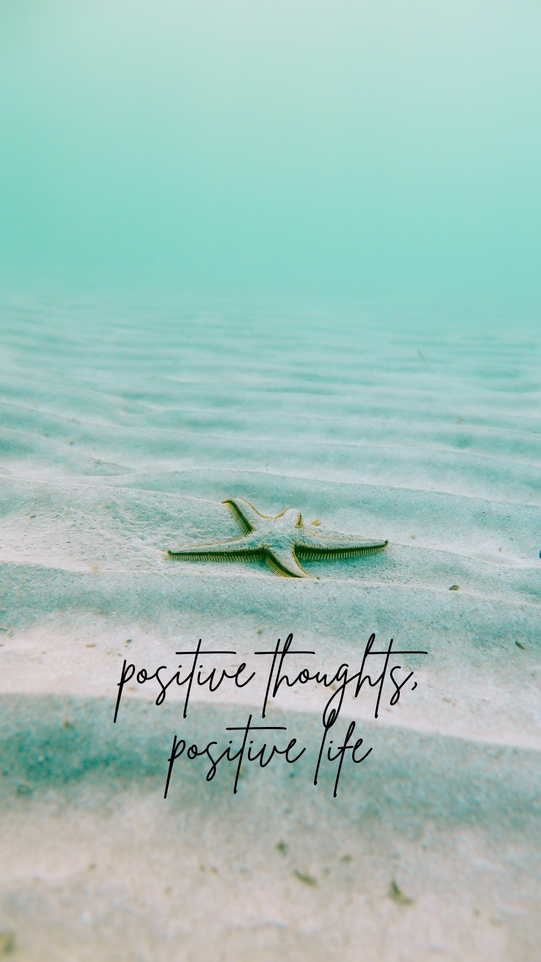 Positive Quote Wallpapers For iPhone: Positive Thoughts, Positive Life