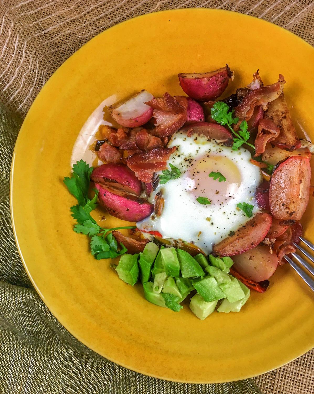 Keto Diet Breakfast Ideas: Southwestern Breakfast Skillet