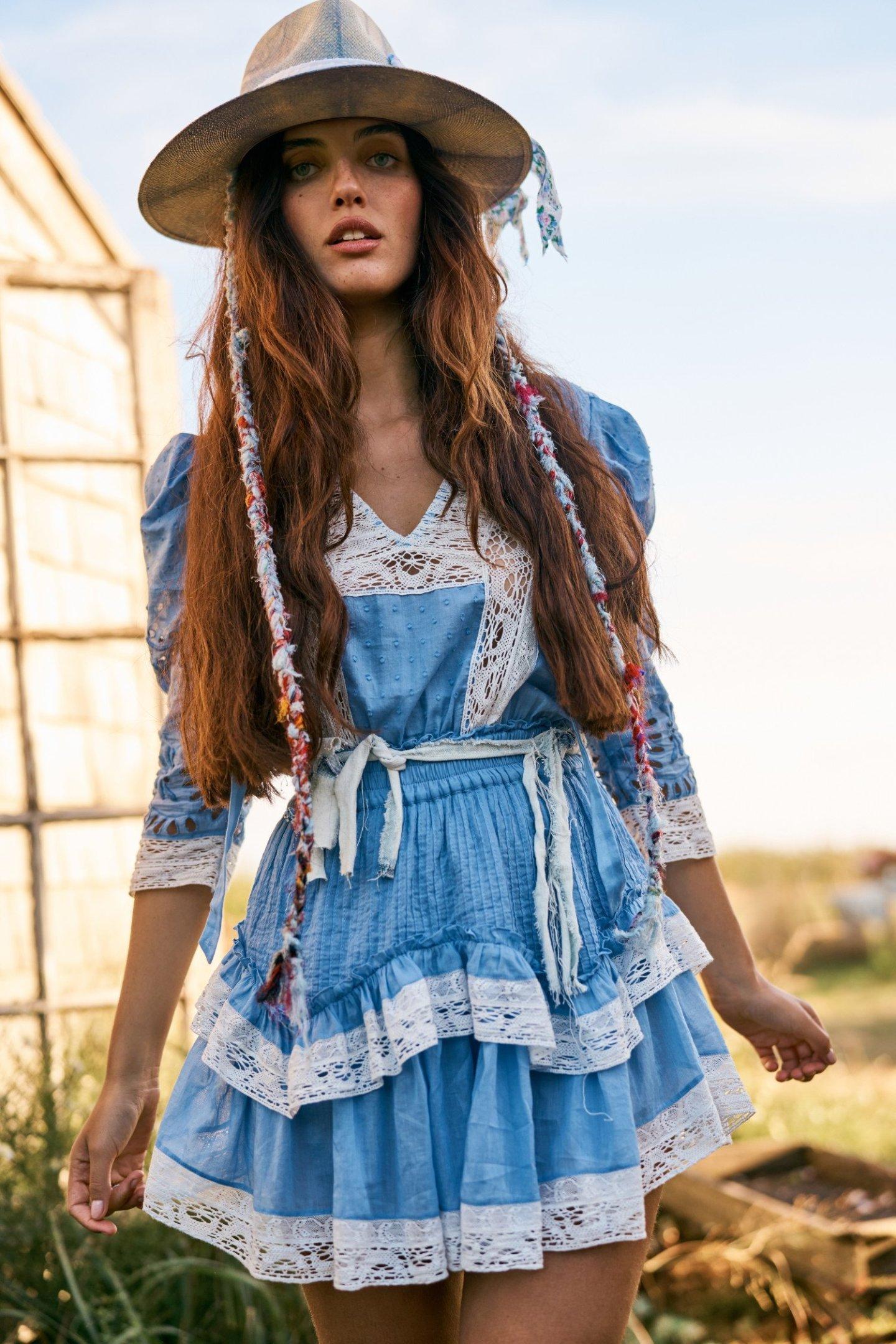 Cottagecore Aesthetic Mini Dresses