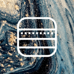Free Aesthetic iPhone App Icons Blue Marble 43
