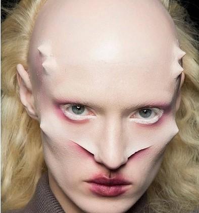 Alien Halloween Makeup Prosthetics