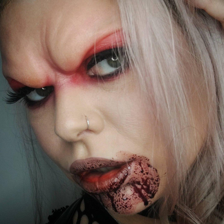 Vampire Brow Halloween SFX Face Prosthetic