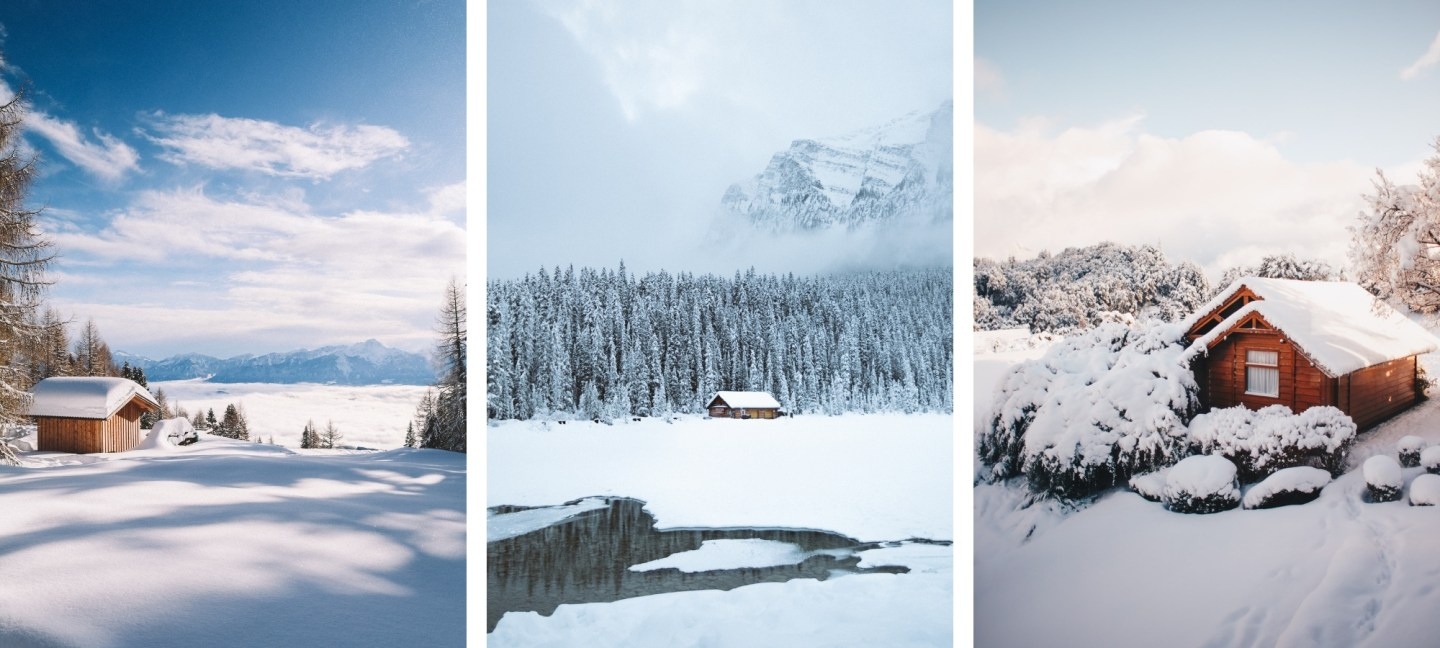 Free HD Winter Scene Wallpaper Backgrounds For iPhone