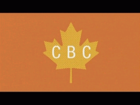 CBC Wordmark on Leaf (ad; 2017)