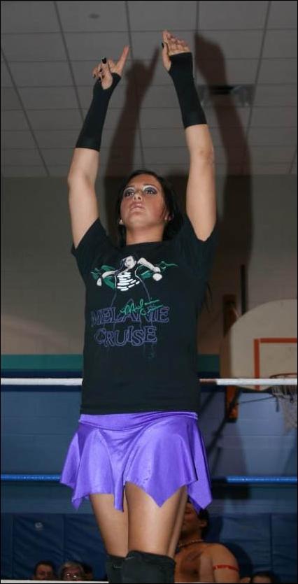 Melanie Cruises GLORY Wrestling Profile