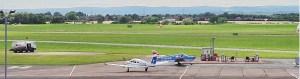 Glos Airport Webcam Header