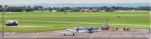 Glos Airport Webcam Header