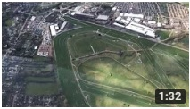 Helicopter Flight today over the Cheltenham Races at Prestbury Park.
