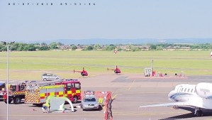 Gloucestershire Airport is having a Charity Open day today