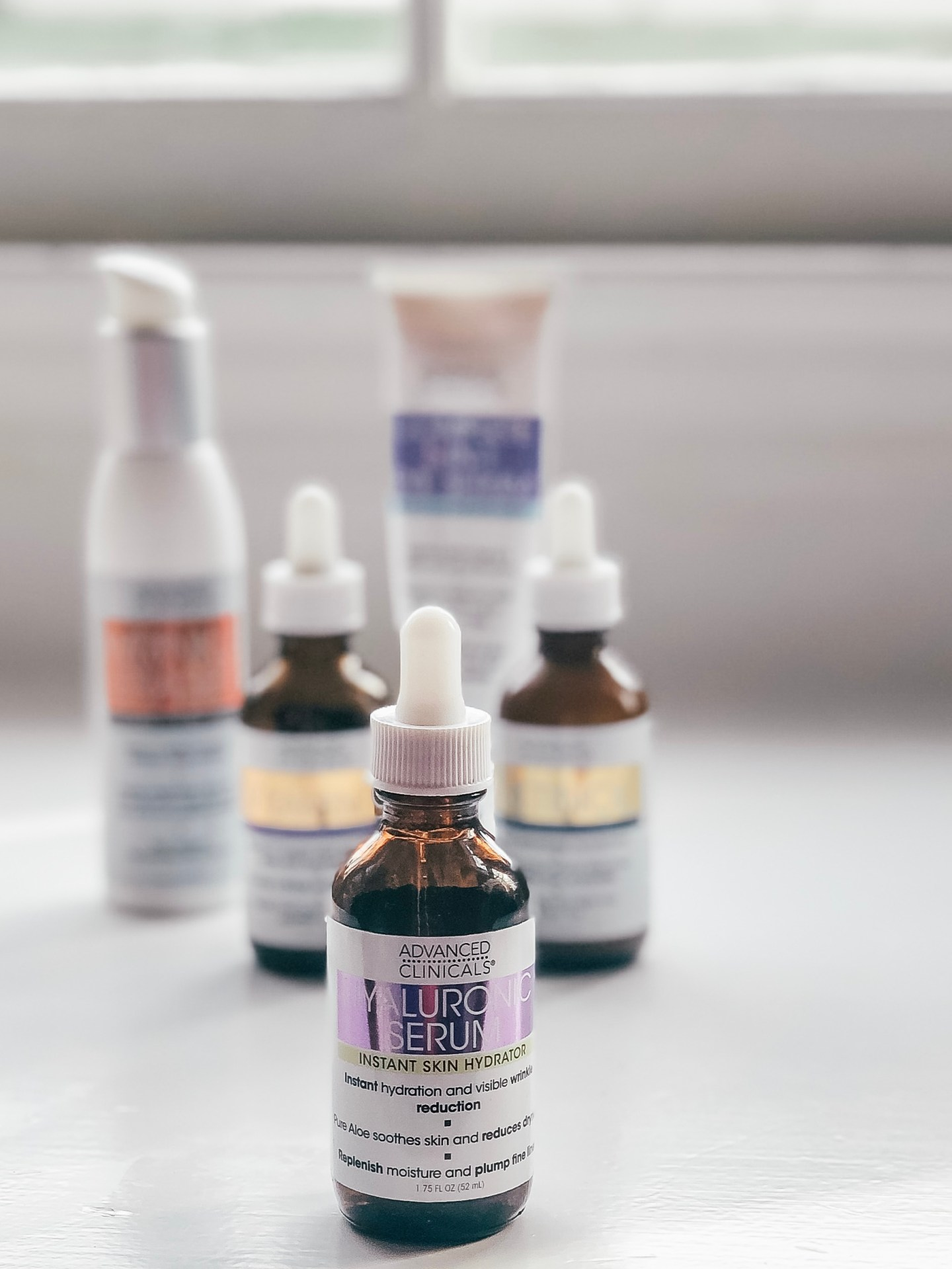 Advanced Clinicals Hyaluronic Serum