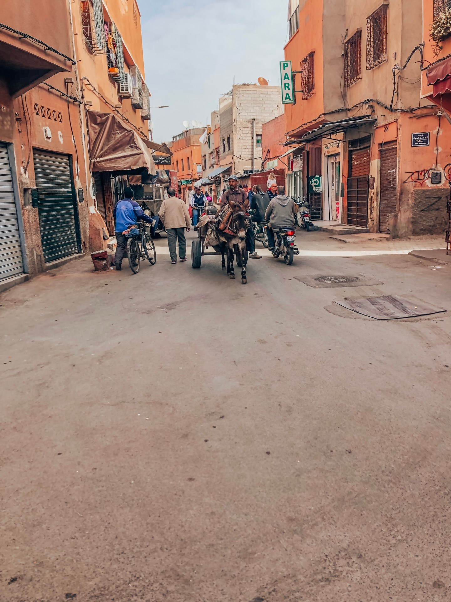 Street view—Old City, Marrakech, Morocco