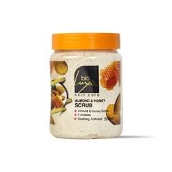 بايو لوكس كريم مقشر بخلاصة العسل و اللوز 500مل – Bio luxe - Glosscairo - Egypt