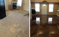 Epoxy Flooring Gallery Before and After 1