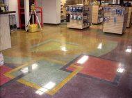Stained Polished Concrete stained concrete Stained Concrete Floors Polished Concrete7 300x224