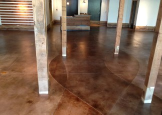 127  Stained Concrete Gallery 127