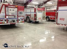 polished concrete Polished Concrete Gallery Centerton Fire Department 19