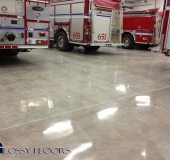 polished concrete Polished Concrete Gallery Centerton Fire Department 20