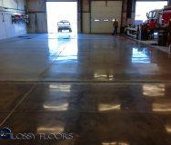 polished concrete Polished Concrete Gallery Centerton Fire Department 3