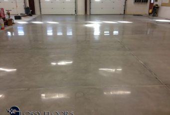 polished concrete Polished Concrete Gallery Centerton Fire Department 4