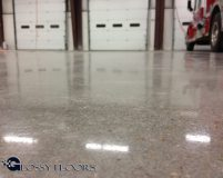 polished concrete Polished Concrete Gallery Centerton Fire Department 7