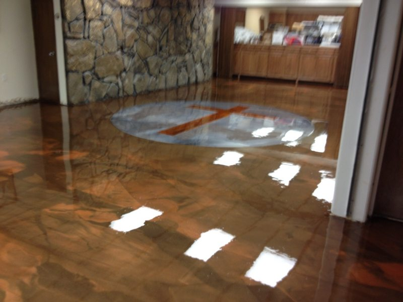 Epoxy Flooring Gallery Glossy Floors