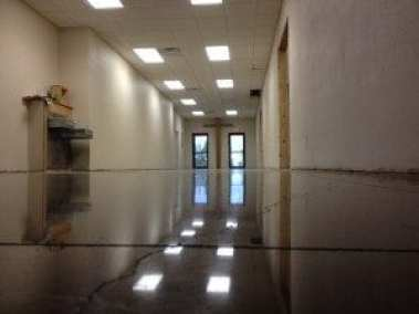 Polished Concrete That's Cracked