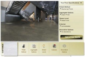 Polished Concrete Visualization Tool Visualize Your Polished Concrete Visualize Your Polished Concrete Polished Concrete Visualization Tool