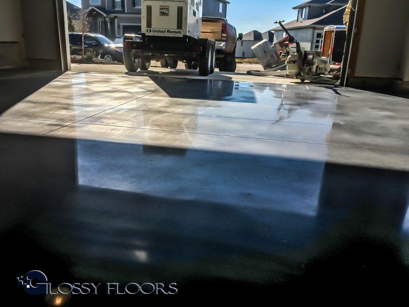 IMG 1441 Polished Concrete Garage Floor