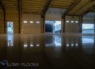 polished concrete Polished Concrete Gallery Polished Concrete Floors Gallatin Fire Department 8