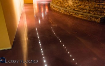 Stained Concrete Gallery Polished Concrete Floors El Matador Restaurant 10