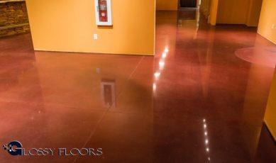 Stained Concrete Gallery Polished Concrete Floors El Matador Restaurant 14