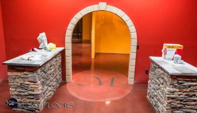 Stained Concrete Gallery Polished Concrete Floors El Matador Restaurant 18