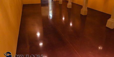 Stained Concrete Gallery Polished Concrete Floors El Matador Restaurant 21