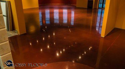 Stained Concrete Gallery Polished Concrete Floors El Matador Restaurant 3