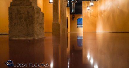 Stained Concrete Gallery Polished Concrete Floors El Matador Restaurant 5