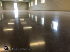polished concrete design ideas Polished Concrete Design Ideas Polished Concrete Camp Gruber Military Base 8