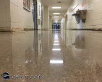 Polished Concrete Floors - Mountain Home High School
