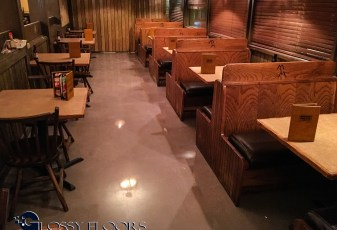 Stained Concrete Gallery Polished Concrete Restaurant Floor 2