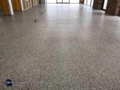 Epoxy Flake Showroom Floor