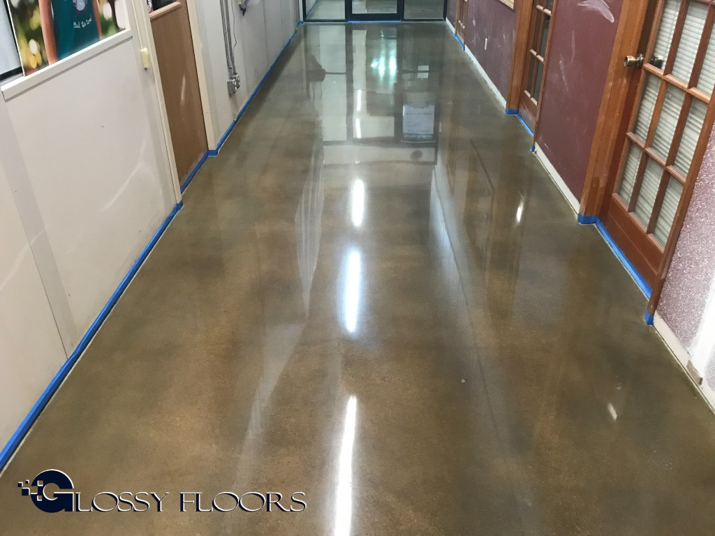 polished concrete floor. Exellent Floor And Polished Concrete Floor