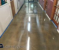 logo on polished concrete Logo on Polished Concrete Polished Concrete Floors 17